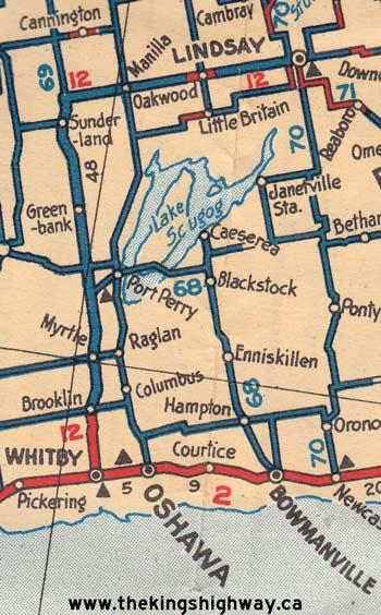 HWY 12 MAP - 1927