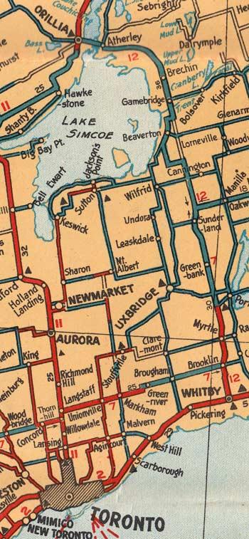 HWY 12 MAP - 1928