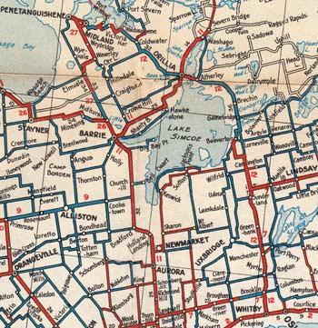 HWY 12 MAP - 1934