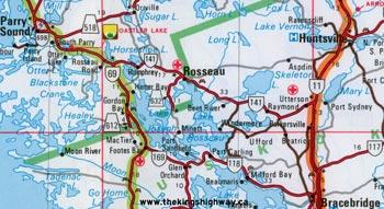 HWY 141 MAP