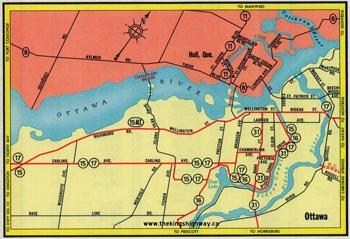 HWY 15A OTTAWA MAP