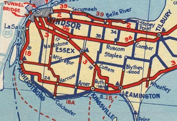 HWY 18A MAP - 1939
