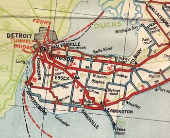 HWY 18 MAP - 1932