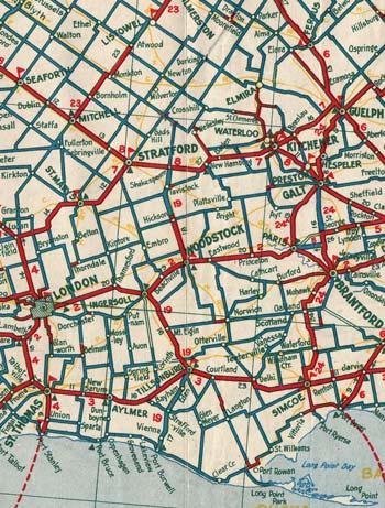 HWY 19 MAP - 1933