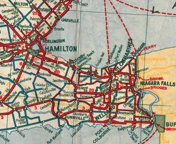 HWY 20 MAP - 1933