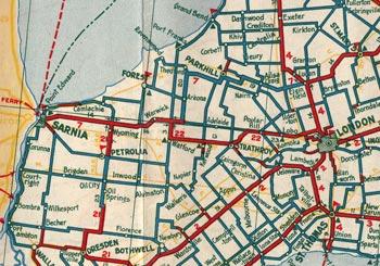 HWY 22 MAP - 1933