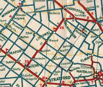 HWY 23 MAP - 1933
