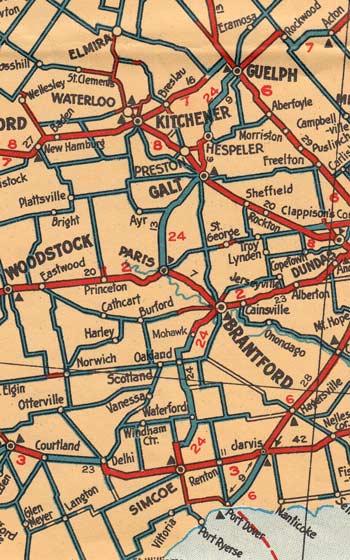 HWY 24 MAP - 1928