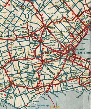 HWY 24 MAP - 1933