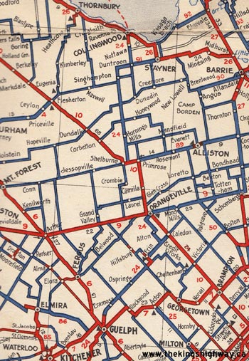 HWY 24 MAP - 1938