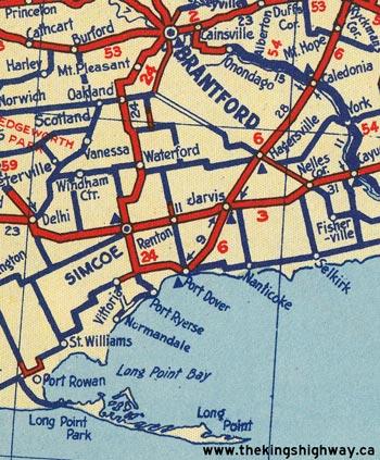 HWY 24 MAP - 1939
