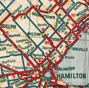 HWY 25 MAP - 1933