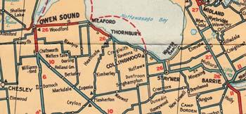 HWY 26 MAP - 1929