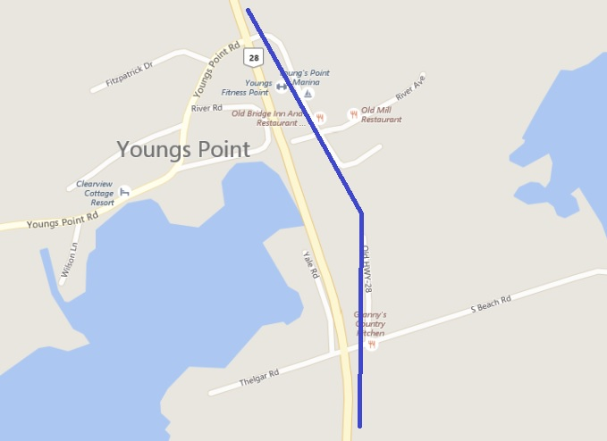 HWY 28A MAP