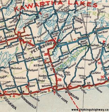 HWY 28 MAP - 1931