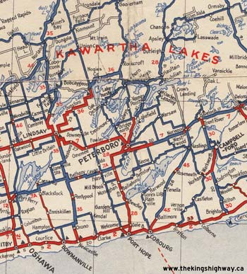 HWY 28 MAP - 1938