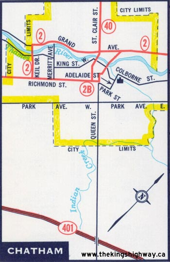 HWY 2B MAP