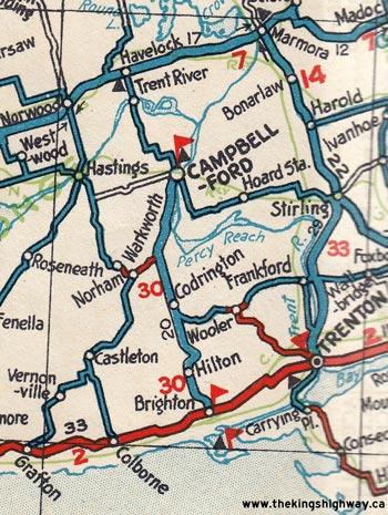 HWY 30 MAP - 1931