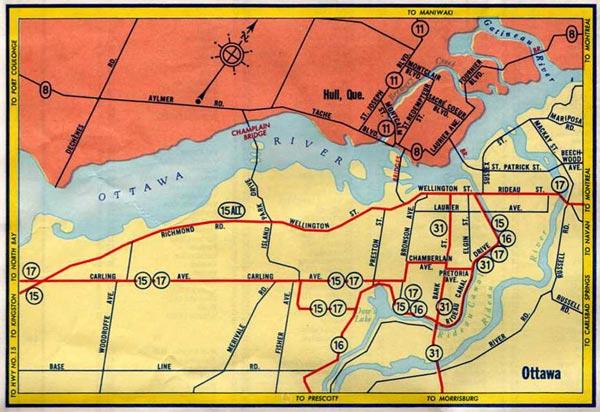 HWY 31 MAP - 1958