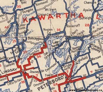 HWY 36 MAP - 1938
