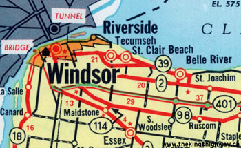 HWY 39B MAP