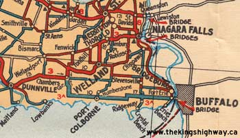 HWY 3A MAP - 1928