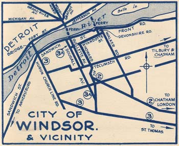 HWY 3A MAP - 1930
