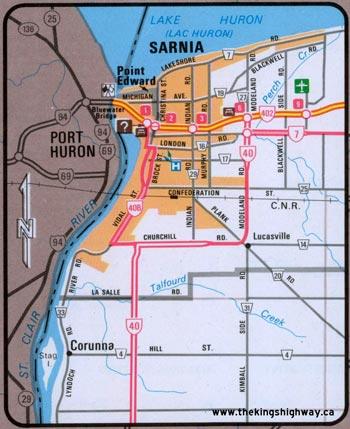 HWY 40B MAP