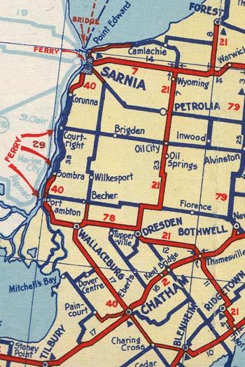 HWY 40 MAP - 1938