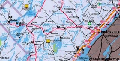 HWY 42 MAP