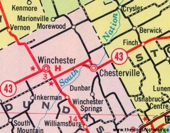 HWY 43B MAP