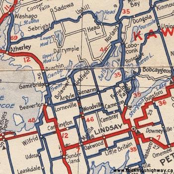 HWY 46 MAP - 1938