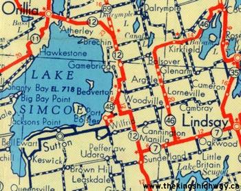 HWY 48 MAP - 1953