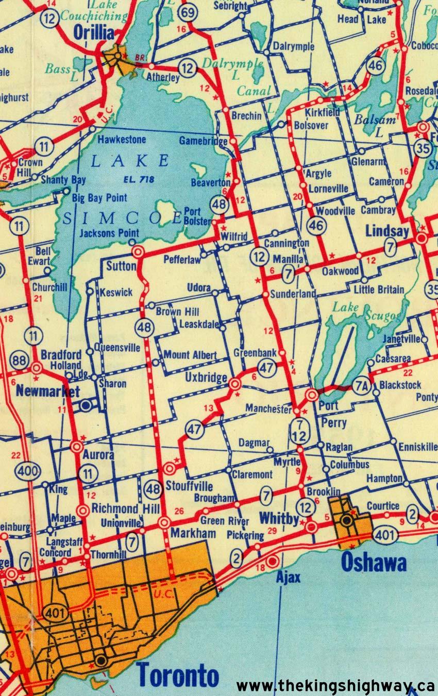 Ontario Highway 48 History The Kings Highways of Ontario
