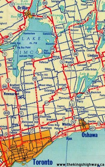 HWY 48 MAP - 1955