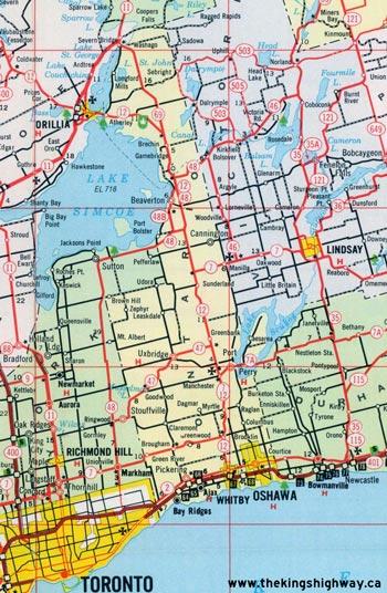HWY 48 MAP - 1967