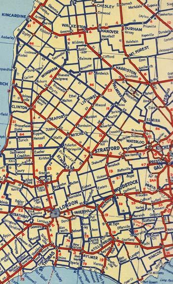 HWY 4 MAP - 1938