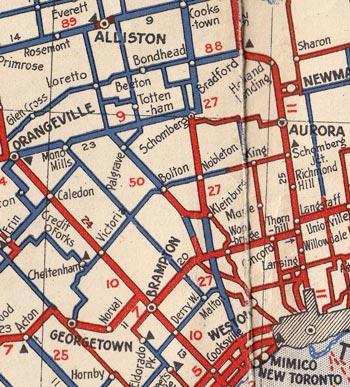 HWY 50 MAP - 1938