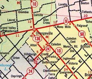 HWY 51 MAP - 1965