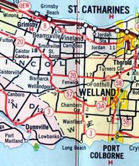 HWY 57 MAP