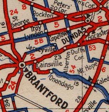 HWY 5B MAP