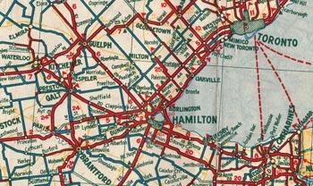 HWY 5 MAP - 1933