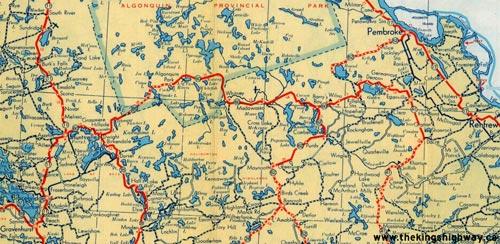 HWY 60 MAP - 1948