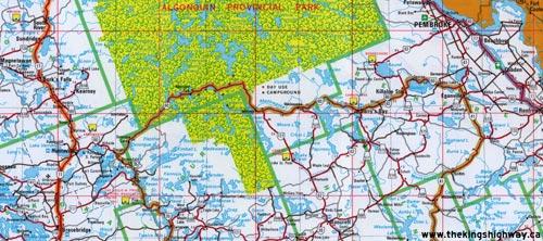 HWY 60 MAP - 1978
