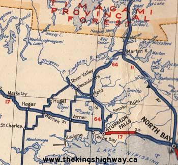 HWY 64 MAP - 1938