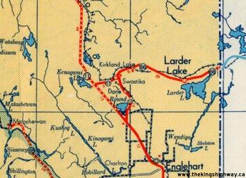 HWY 66 MAP - 1948