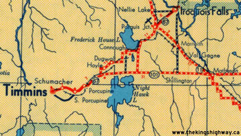 HWY 67A MAP