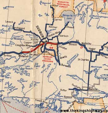 HWY 69 NORTH MAP - 1938