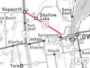 HWY 70 (#2) MAP