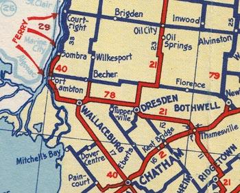 HWY 78 MAP - 1938